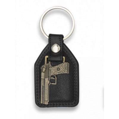 Prívesok na kľúče Pistol
