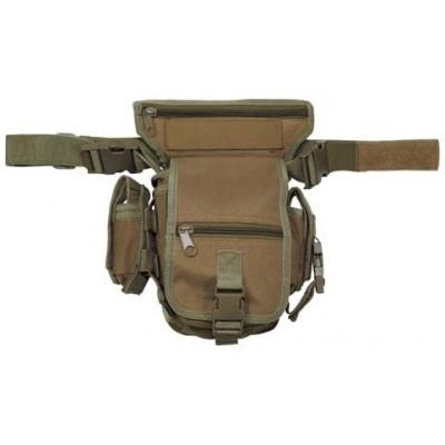 Bedrová taška HIP - BAG, Coyote