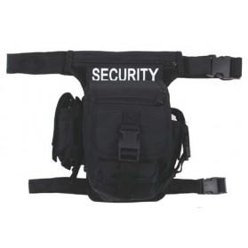 Bedrová taška HIP BAG - čierna