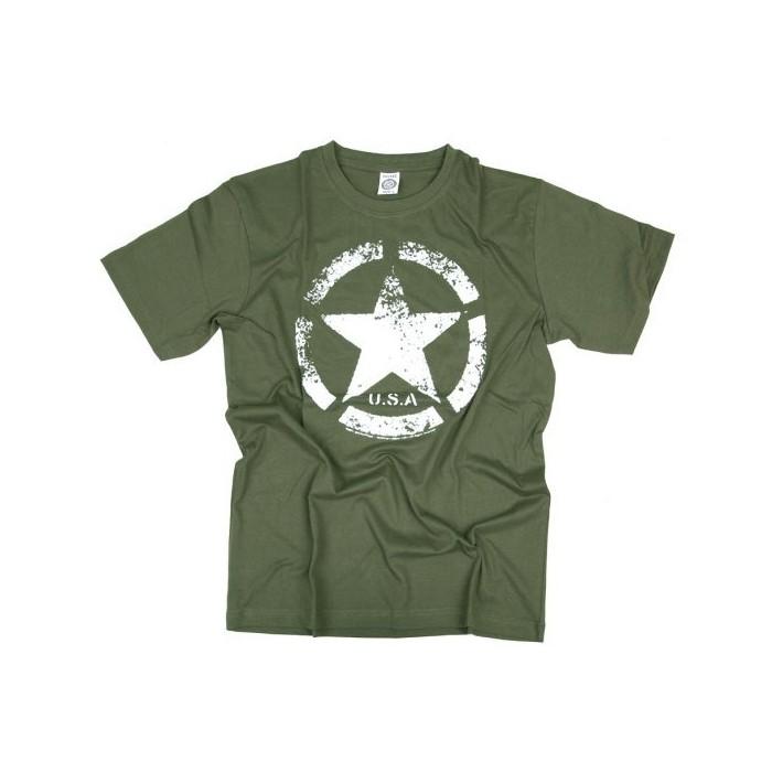 Tričko VINTAGE US ARMY STAR