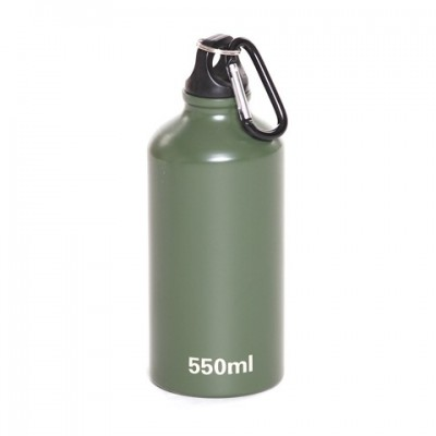Hliníková fľaša s karabínou