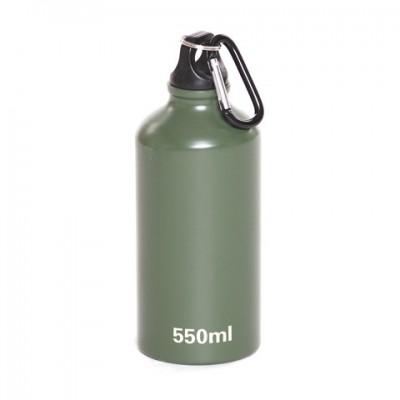 Hliníková FOSCO 550ml fľaša s karabínou