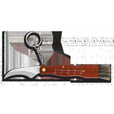 Hubársky nôž SETERA 6 cm